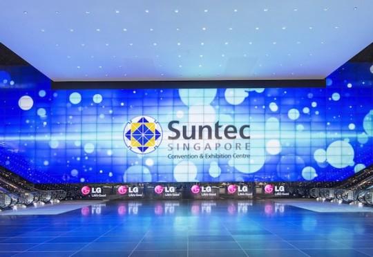 Suntec-Singapore-LG-Videowall-AVSTORE