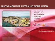 Nuovi display 4K di LG, serie UH5B