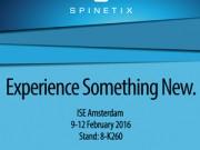 AVstore ti aspetta a ISE 2016 presso lo stand di SpinetiX (8-K260)